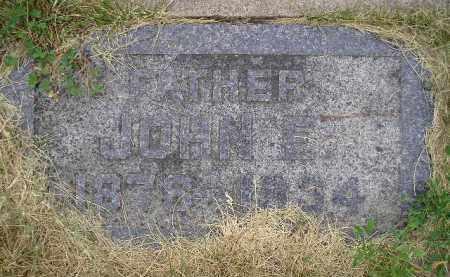 KUNKEL, JOHN E. - Hanson County, South Dakota | JOHN E. KUNKEL - South Dakota Gravestone Photos