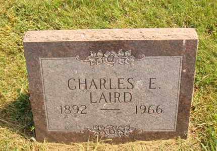 LAIRD, CHARLES E. - Hanson County, South Dakota | CHARLES E. LAIRD - South Dakota Gravestone Photos