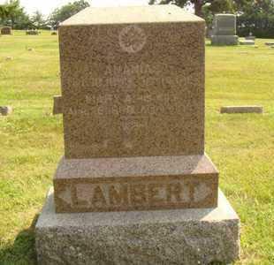 LAMBERT, MARY A. - Hanson County, South Dakota | MARY A. LAMBERT - South Dakota Gravestone Photos