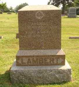 LAMBERT, ANANIAS - Hanson County, South Dakota | ANANIAS LAMBERT - South Dakota Gravestone Photos