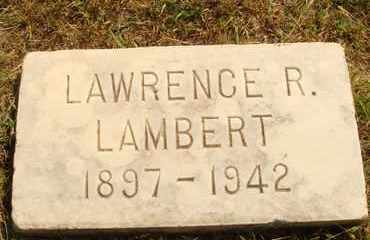 LAMBERT, LAWRENCE R. - Hanson County, South Dakota | LAWRENCE R. LAMBERT - South Dakota Gravestone Photos
