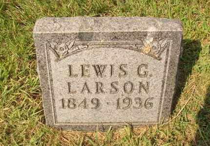 LARSON, LEWIS G. - Hanson County, South Dakota | LEWIS G. LARSON - South Dakota Gravestone Photos