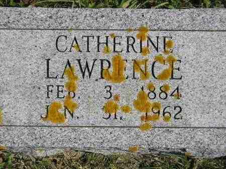 LAWRENCE, CATHERINE - Hanson County, South Dakota | CATHERINE LAWRENCE - South Dakota Gravestone Photos