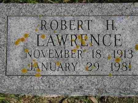 LAWRENCE, ROBERT H. - Hanson County, South Dakota | ROBERT H. LAWRENCE - South Dakota Gravestone Photos
