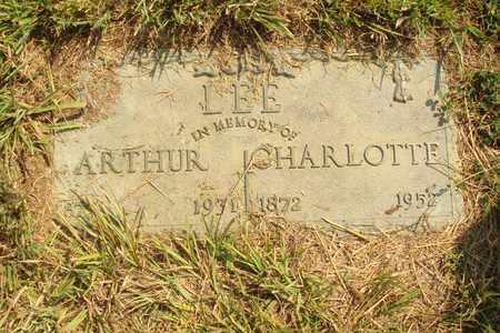LEE, CHARLOTTE - Hanson County, South Dakota | CHARLOTTE LEE - South Dakota Gravestone Photos