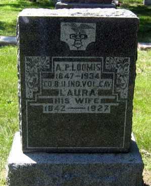 LOOMIS, ALBERT PICKETT - Hanson County, South Dakota   ALBERT PICKETT LOOMIS - South Dakota Gravestone Photos