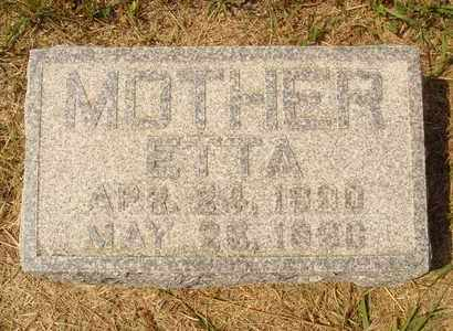 MABEE, ETTA - Hanson County, South Dakota | ETTA MABEE - South Dakota Gravestone Photos