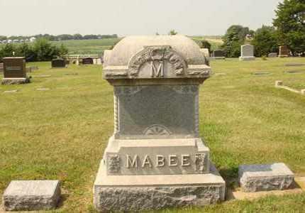 MABEE, FAMILY MARKER - Hanson County, South Dakota | FAMILY MARKER MABEE - South Dakota Gravestone Photos