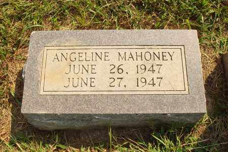 MAHONEY, ANGELINE - Hanson County, South Dakota | ANGELINE MAHONEY - South Dakota Gravestone Photos