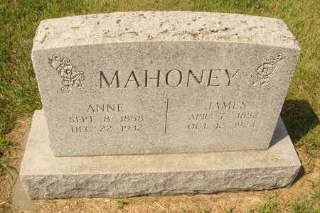 MAHONEY, JAMES - Hanson County, South Dakota | JAMES MAHONEY - South Dakota Gravestone Photos