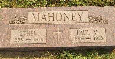 MAHONEY, PAUL V. - Hanson County, South Dakota   PAUL V. MAHONEY - South Dakota Gravestone Photos