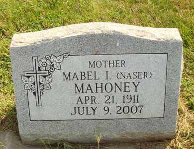 NASER MAHONEY, MABEL I. - Hanson County, South Dakota | MABEL I. NASER MAHONEY - South Dakota Gravestone Photos