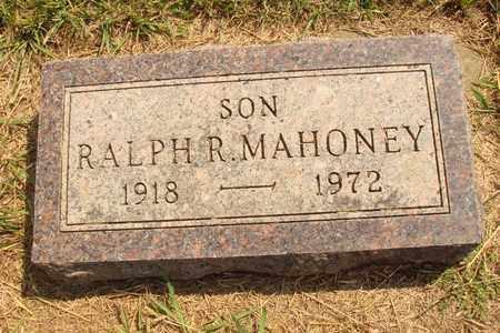 MAHONEY, RALPH R. - Hanson County, South Dakota   RALPH R. MAHONEY - South Dakota Gravestone Photos