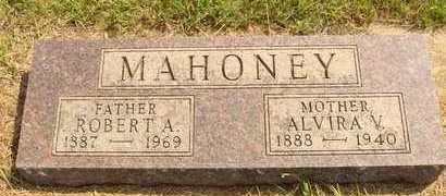 MAHONEY, ALVIRA V. - Hanson County, South Dakota | ALVIRA V. MAHONEY - South Dakota Gravestone Photos