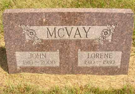 MCVAY, LORENE - Hanson County, South Dakota | LORENE MCVAY - South Dakota Gravestone Photos