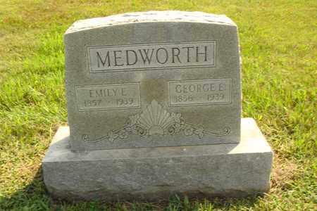 MEDWORTH, EMILY E. - Hanson County, South Dakota | EMILY E. MEDWORTH - South Dakota Gravestone Photos