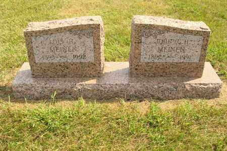 MEINEN, JOHN G.H. - Hanson County, South Dakota | JOHN G.H. MEINEN - South Dakota Gravestone Photos