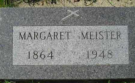 MEISTER, MARGARET - Hanson County, South Dakota | MARGARET MEISTER - South Dakota Gravestone Photos