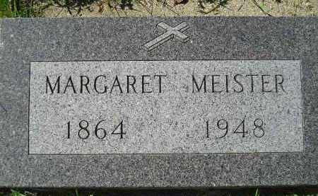 MEISTER, MARGARET - Hanson County, South Dakota | MARGARET MEISTER - South Dakota Gravestone Photos