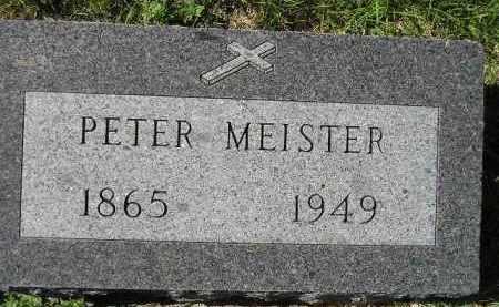 MEISTER, PETER - Hanson County, South Dakota | PETER MEISTER - South Dakota Gravestone Photos