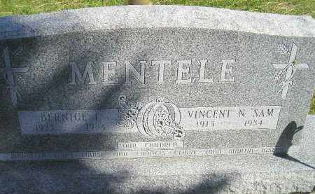 MENTELE, BERNICE I. - Hanson County, South Dakota   BERNICE I. MENTELE - South Dakota Gravestone Photos