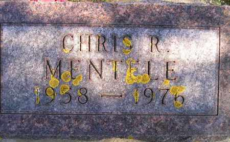 MENTELE, CHRIS R. - Hanson County, South Dakota | CHRIS R. MENTELE - South Dakota Gravestone Photos