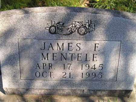 MENTELE, JAMES F. - Hanson County, South Dakota   JAMES F. MENTELE - South Dakota Gravestone Photos