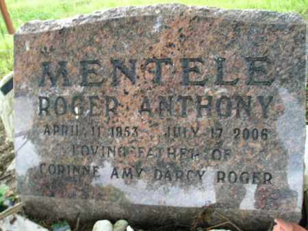 MENTELE, ROGER ANTHONY - Hanson County, South Dakota | ROGER ANTHONY MENTELE - South Dakota Gravestone Photos
