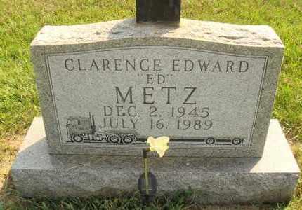 "METZ, CLARENCE EDWARD ""ED"" - Hanson County, South Dakota | CLARENCE EDWARD ""ED"" METZ - South Dakota Gravestone Photos"