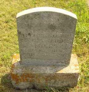 MILES, DOROTHY - Hanson County, South Dakota | DOROTHY MILES - South Dakota Gravestone Photos