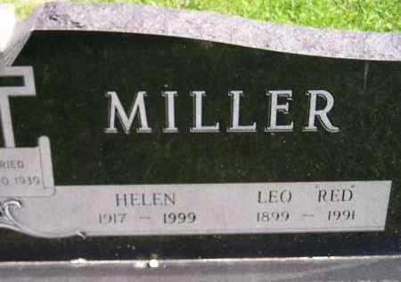 "MILLER, LEO ""RED"" - Hanson County, South Dakota | LEO ""RED"" MILLER - South Dakota Gravestone Photos"