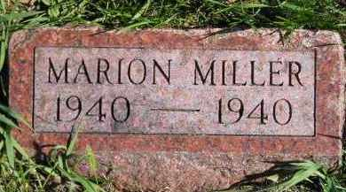 MILLER, MARION - Hanson County, South Dakota | MARION MILLER - South Dakota Gravestone Photos