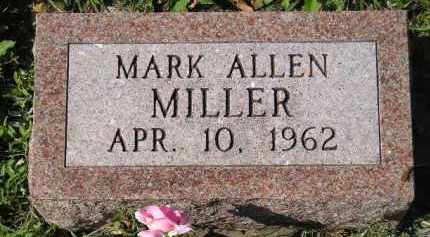 MILLER, MARK ALLEN - Hanson County, South Dakota | MARK ALLEN MILLER - South Dakota Gravestone Photos