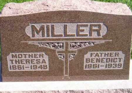 MILLER, BENEDICT - Hanson County, South Dakota | BENEDICT MILLER - South Dakota Gravestone Photos