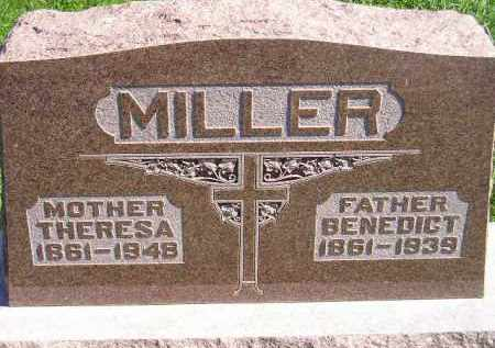 MILLER, BENEDICT - Hanson County, South Dakota | BENEDICT MILLER - South Dakota Gravestone Photos
