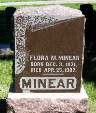 MINEAR, FLORA - Hanson County, South Dakota | FLORA MINEAR - South Dakota Gravestone Photos