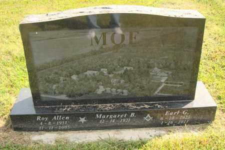 MOE, ROY ALLEN - Hanson County, South Dakota | ROY ALLEN MOE - South Dakota Gravestone Photos
