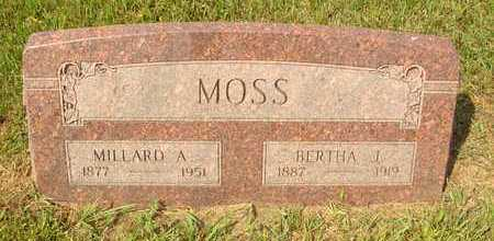 MOSS, MILLARD A. - Hanson County, South Dakota | MILLARD A. MOSS - South Dakota Gravestone Photos