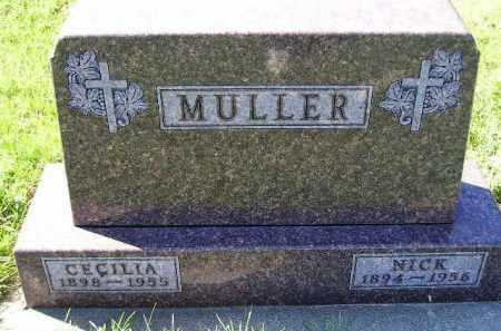 MULLER, NICK - Hanson County, South Dakota | NICK MULLER - South Dakota Gravestone Photos