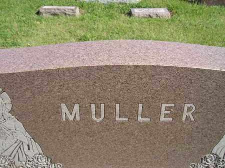 MULLER, FAMILY - Hanson County, South Dakota   FAMILY MULLER - South Dakota Gravestone Photos