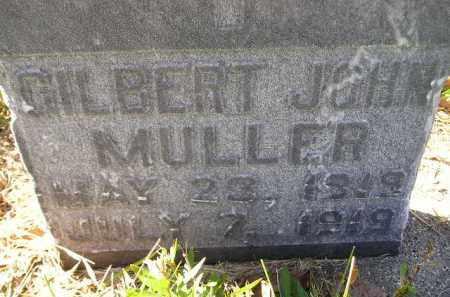 MULLER, GILBERT JOHN - Hanson County, South Dakota | GILBERT JOHN MULLER - South Dakota Gravestone Photos