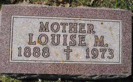MULLER, LOUISE M. - Hanson County, South Dakota | LOUISE M. MULLER - South Dakota Gravestone Photos