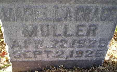 MULLER, MARELLA GRACE - Hanson County, South Dakota | MARELLA GRACE MULLER - South Dakota Gravestone Photos