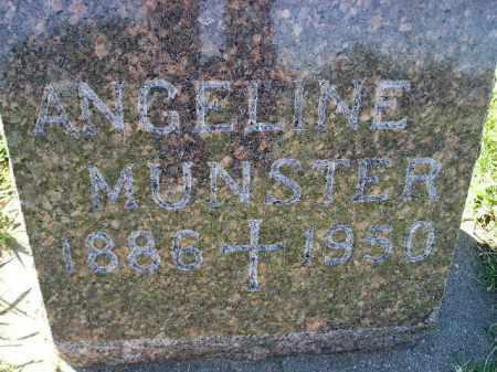 MUNSTER, ANGELINE - Hanson County, South Dakota | ANGELINE MUNSTER - South Dakota Gravestone Photos
