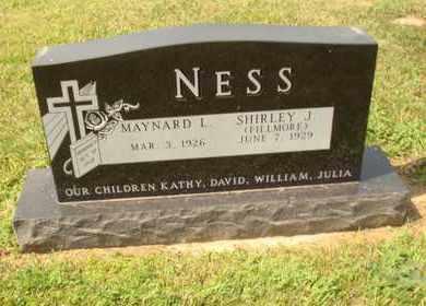 FILLMORE NESS, SHIRLEY J. - Hanson County, South Dakota | SHIRLEY J. FILLMORE NESS - South Dakota Gravestone Photos