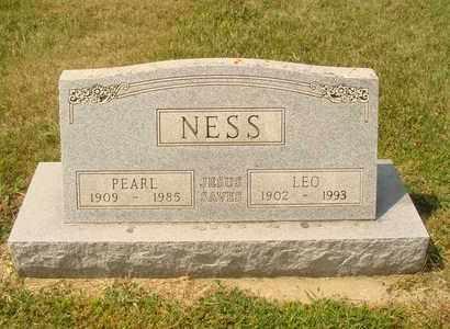 NESS, PEARL - Hanson County, South Dakota | PEARL NESS - South Dakota Gravestone Photos