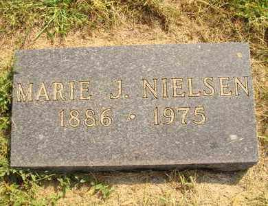 NIELSEN, MARIE J. - Hanson County, South Dakota | MARIE J. NIELSEN - South Dakota Gravestone Photos