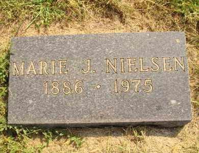 NIELSEN, MARIE J. - Hanson County, South Dakota | MARIE J. NIELSEN - South Dakota Gravestone Photos