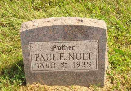 NOLT, PAUL E. - Hanson County, South Dakota | PAUL E. NOLT - South Dakota Gravestone Photos