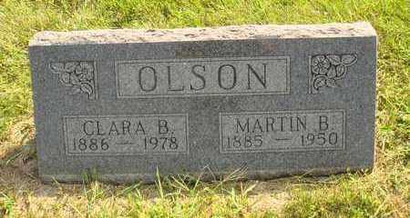 OLSON, CLARA B. - Hanson County, South Dakota   CLARA B. OLSON - South Dakota Gravestone Photos